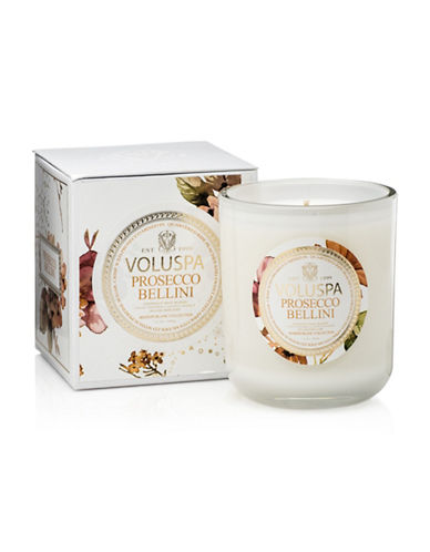 Voluspa Prosecco Bellini Candle-WHITE-One Size