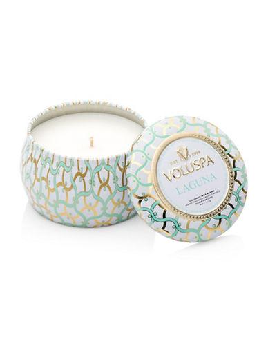 Voluspa Laguna Mini Tin Candle-BLUE-One Size