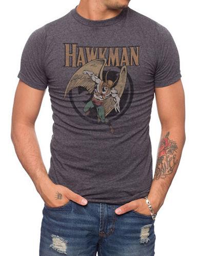 Jack Of All Trades Hawkman Retro Print T-Shirt-CHARCOAL-Small 88315289_CHARCOAL_Small