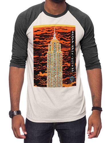 Jack Of All Trades Zane Fix Empire Print Shirt-WHITE-Medium