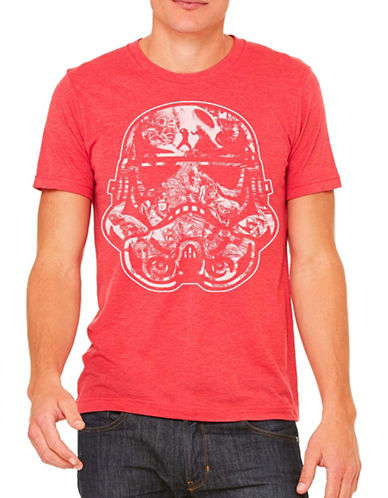 Philcos Star Wars Trooper Tee-DARK RED-Large