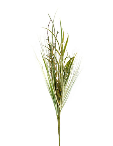 Winward Silks Faux Mixed Bamboo Grass Stem-GREEN-One Size