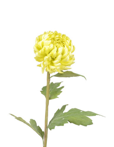 Winward Silks Faux Single Mum Flower-YELLOW-One Size