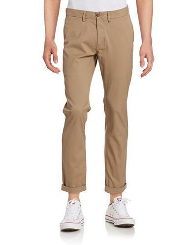 Ben Sherman Slim Stretch Chino Pants-STONE-32