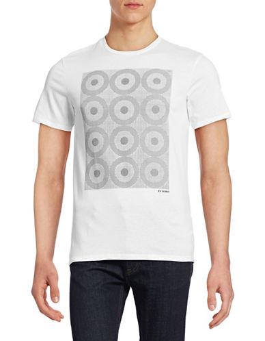 Ben Sherman Pindot Target T-Shirt-WHITE-Large 88444800_WHITE_Large
