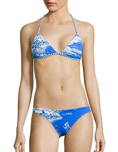 Polo Ralph Lauren Cote D Azur Reversible Triangle Top-BLUE-Large