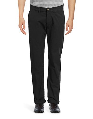 Ben Sherman Slim-Fit Stretch Chino Pants-BLACK-34