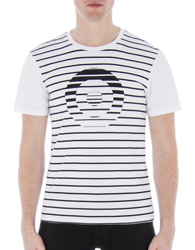 Ben Sherman Target T-Shirt-WHITE-Medium