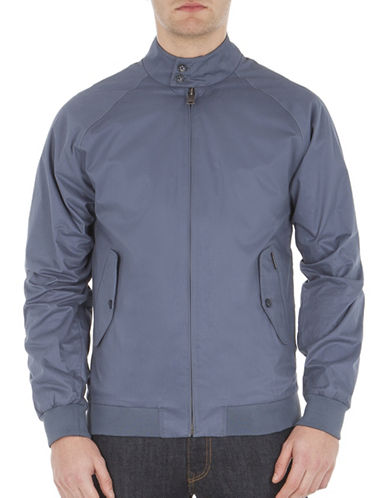 Ben Sherman New Cotton Harrington Jacket-BLUE-Medium 88974665_BLUE_Medium