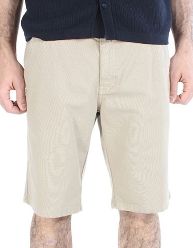 Ben Sherman Canvas Utility Shorts-BEIGE-29