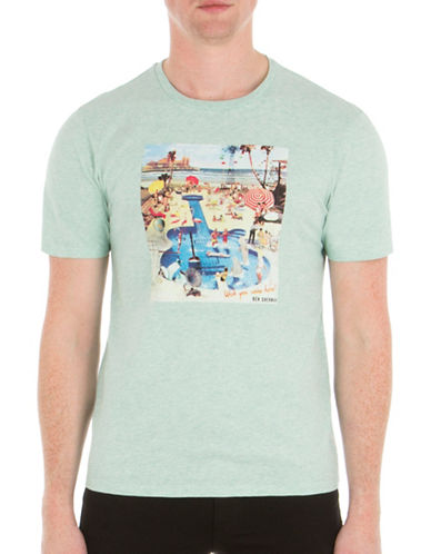 Ben Sherman Pool Party Tee-GREEN-Small 89165407_GREEN_Small