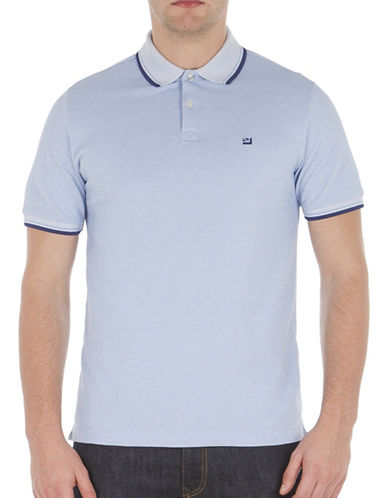 Ben Sherman Striped Short Sleeve Romford Polo-TONIC BLUE-X-Large