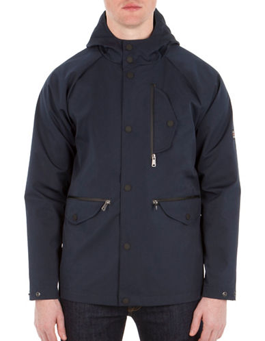 Ben Sherman British Beat Sharp Hooded Jacket-BLUE-Small 89119152_BLUE_Small