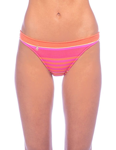 Polo Ralph Lauren Taylor Hipster Swim Bottoms-CORAL-Large