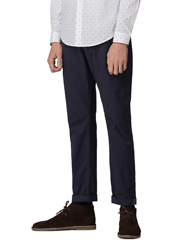 Ben Sherman Future Mod Slim Stretch Chinos-BLUE-34
