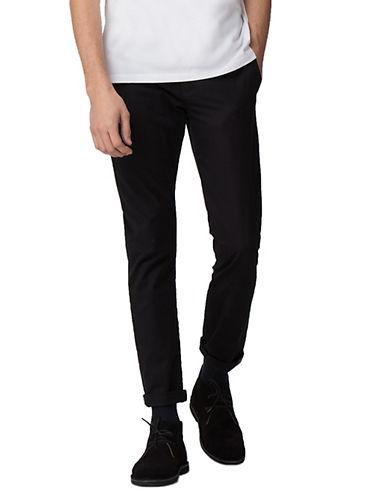 Ben Sherman Slim-Fit Stretch Chino Pants-BLACK-32