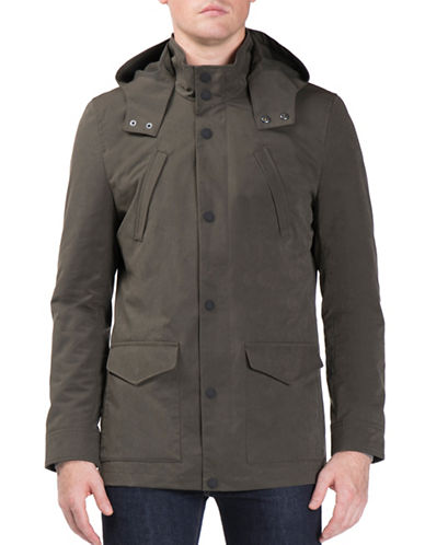 Ben Sherman Luxe Jacket-GREEN-Small
