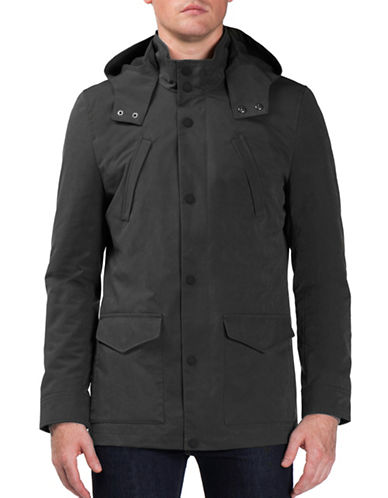 Ben Sherman Luxe Jacket-BLACK-Large