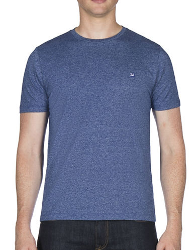 Ben Sherman Grindle Cotton Tee-BLUE-Large