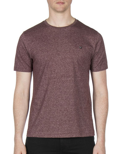 Ben Sherman Grindle Cotton Tee-PURPLE-XX-Large