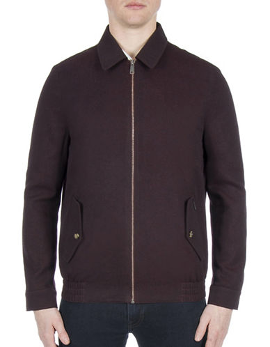 Ben Sherman Sartorial Blouson Jacket-COPPER-Small