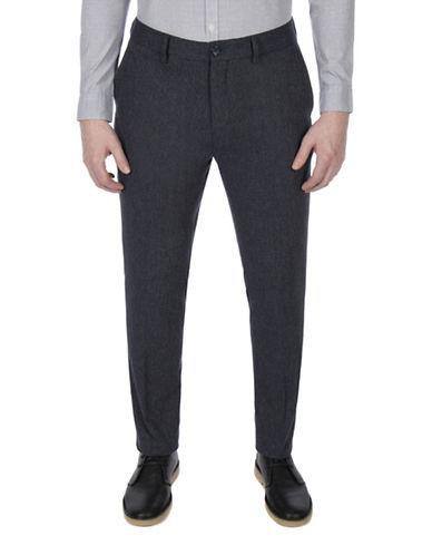 Ben Sherman Slim Micro-Texture Trouser-BLUE-34