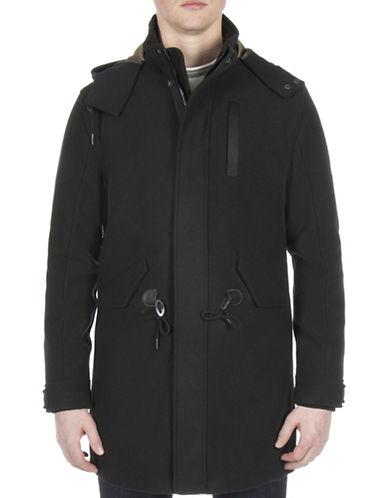Ben Sherman Bonded Parka Jacket-GREEN-Medium 89497604_GREEN_Medium