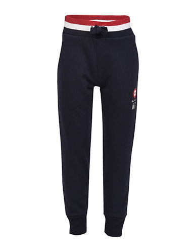 Ben Sherman Brush Back Jogger Pants-BLUE-10-11