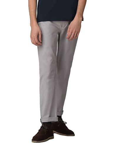 Ben Sherman Future Mod Slim Stretch Chinos-GREY-38