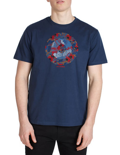 Ben Sherman Hero Target T-Shirt-BLUE-Small 89848359_BLUE_Small