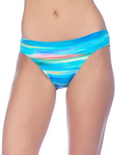 Lauren Ralph Lauren Ombre Ikat Hipster Bikini Bottom-BLUE-12