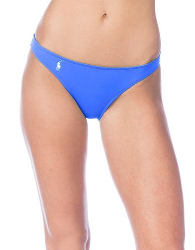 Polo Ralph Lauren Taylor Modern Hipster Bikini Bottom-BLUE-Small