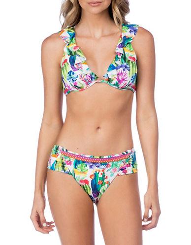Nanette Lepore Heartbreaker Floral Bikini Top-MULTI-Small