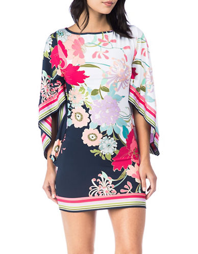 Trina Turk Floral Tunic-MULTI-Small
