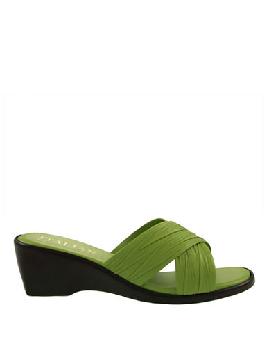Italian Shoemakers 168-LIME-10