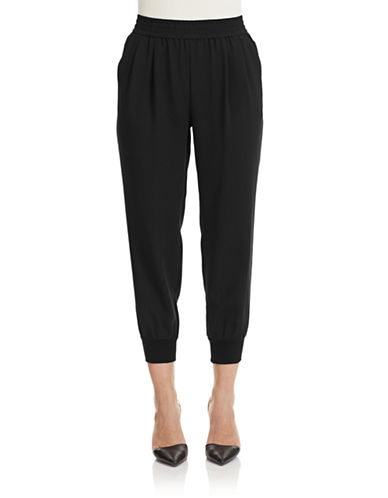 Joie Mariner Cropped Pants-BLACK-Medium