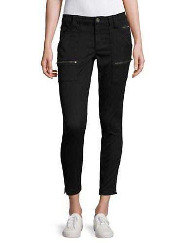 Joie Park Caviar Skinny Pants-BLACK-30