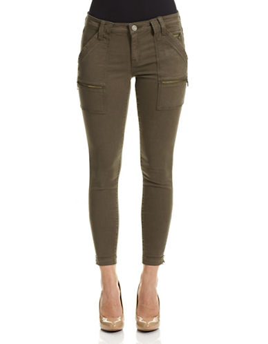 Joie Park Skinny Utility Jeans-GREEN-30
