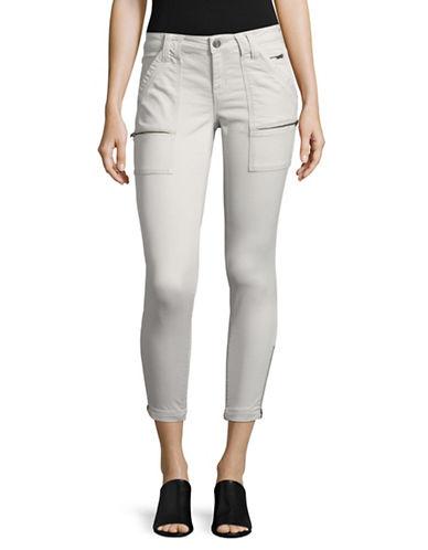 Joie Park Skinny Utility Jeans-GREY-31