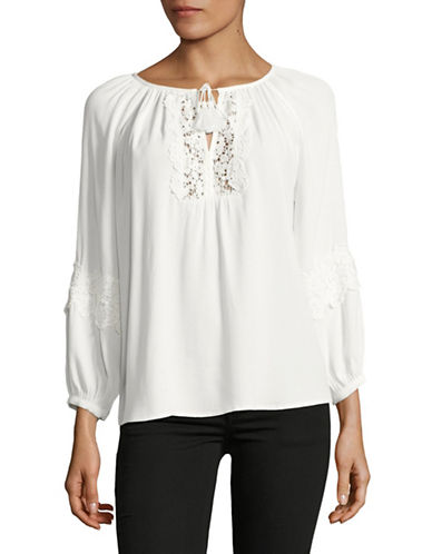 Joie Orval Blouse-WHITE-Medium