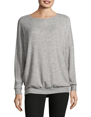 Joie Giarda Dolman Sleeve Sweater-GREY-Large