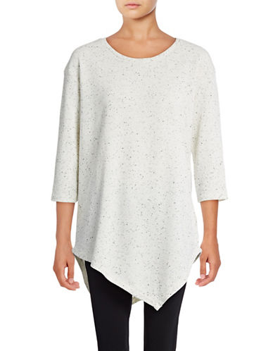 Soft Joie Tammy B Heathered Knit Top-WHITE-X-Small 88896846_WHITE_X-Small