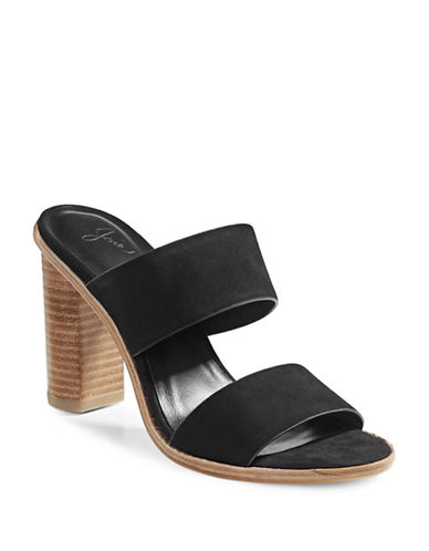 Joie Banner Mule Sandals-BLACK-EUR 40/US 10
