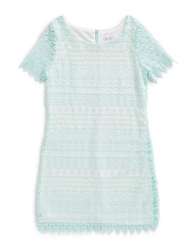 Blush Crochet Lace Dress-MINT-7