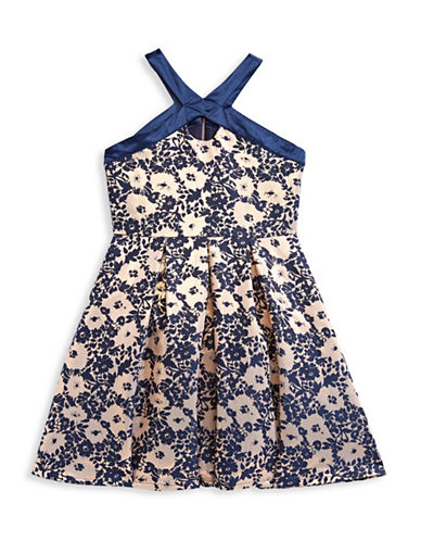 Blush Floral Brocade Dress-ASSORTED-10