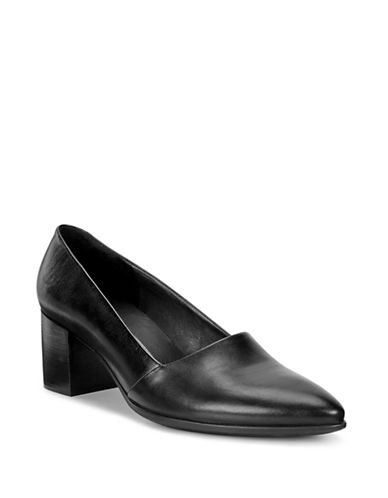 Ecco Shape 45 Leather Pumps-BLACK-EUR 39/US 9