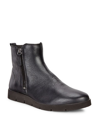 Ecco Bella Double Zip Booties-BLACK-EUR 36/US 6