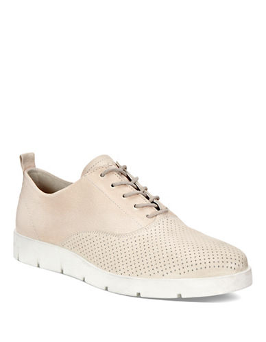 Ecco Bella Perf Leather Oxford Sneakers-VANILLA-EUR 36/US 6