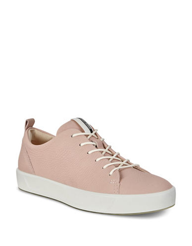 Ecco Soft 8 Lace-Up Sneakers-ROSE DUST-EUR 36/US 6