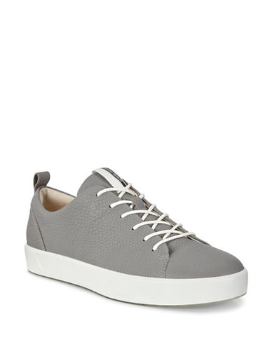 Ecco Soft 8 Lace-Up Sneakers-WILD DOVE-EUR 39/US 9